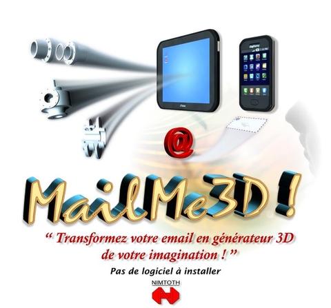 Transformez votre email en generateur 3D de votre imagination avec MailMe3D